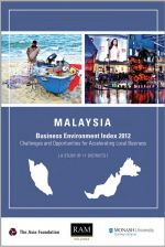 The Business Environment Index 2012 of Malaysia