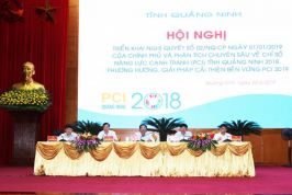 Quang Ninh province strives to sustainably improve the PCI, maintaining her champion position